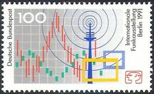 Germany 1991 Radio Exhibition/Waves/Mast/Broadcasting/Telecomms 1v (n27535)