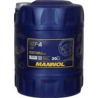 20 Liter Original MANNOL Hydrauliköl ATF-A PSF Hydraulic Fluid Oil