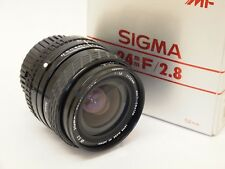 Sigma 24mm F2.8 Super-Wide II Nikon AI-S Mount Lens with Box. St No u8943