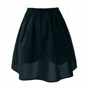 Lady Cotton Skirt Underskirt Petticoat Under Dress Half Slips Mini A Line Casual