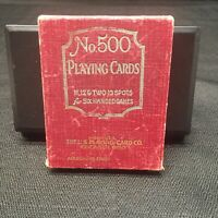 VINTAGE - No#500 Playing Cards for 6 Handed Games - WOW!!