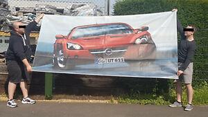 Original Opel Speedster Banner 300x150cm aus Opel Deko-Paket