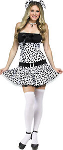 Dalmatian Adult Women's Costume Dog Disney 101 Dalmations Dress Funworld