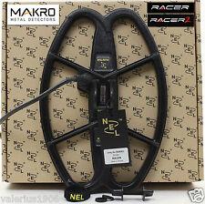 "New NEL HUNTER 12.5""x8.5"" DD search coil for Makro Racer + coil cover + fix bolt"