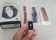 Fitbit Charge 3 Aktivitätstracker - Blaugrau/Aluminum - Rosegold