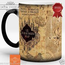 350ml Harry Potter mug Marauders Heat Sensitive Color Changing Magic Coffee mug