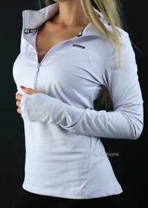 Victoria's Secret PINK Ultimate Deep Half Zip  Mockneck Stretch Sweatshirt NWT