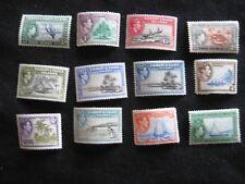 Gilbert & Ellice Islands: 1939-55 set to 2/6d mounted mint
