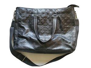 COACH op art Messenger Bag