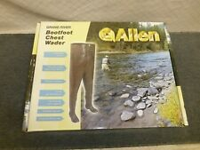 Allen Grand River Rubber Chest Wader Waders Barefoot 11818 Size 8