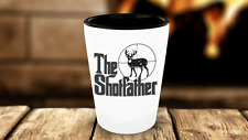 Deer Hunter Gift -Funny Hunting Shot Glasses For Men-Bow Hunters Present for Him