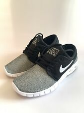 Youth Nike Stefan Janoski Max (GS) Black/White/Grey Size 6Y