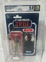 Star Wars Vintage Collection Yak Face Saelt-Marae AFA 9.0 U 90 Uncirculated ROTJ
