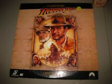 Indiana Jones and the Last Crusade Letterbox Edition 2 Laserdisc Set