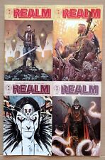Realm 1 Cover A and B Tony Moore Cover 2 Jeff Lemire Cover 3 Image Comics