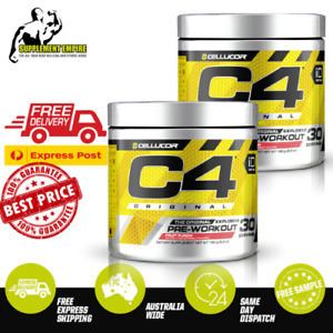 2 X Cellucor C4 ORIGINAL ID SERIE Pre Workout Preworkout 30 servings TWIN PACK