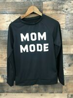 Boutique MOM MODE Black Long Sleeve Top Size S