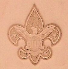 Boy Scout Emblem 3D Leather Stamping Tool 8518-00