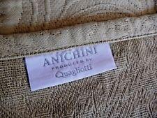 ANICHINI QUAGLIOTTI NEW Queen MATELASSE COVERLET BEDSPREAD Egyptian Cotton Italy