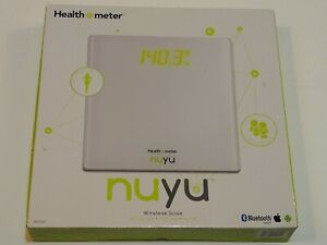 Scale Wireless Bluetooth Smart BMI Tracking Disappear Health O Meter NUYU NEW