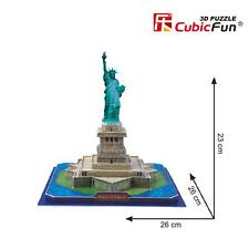 3D Puzzles Statue of Liberty Model Educational Cardboard Jigsaw Puzzle C080h