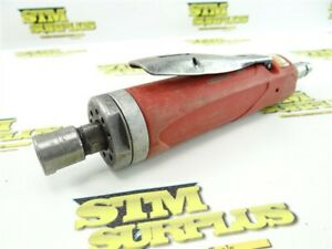 """SIOUX PNEUMATIC STRAIGHT DIE GRINDER 12,000 RPM 1/4"""" DA200 COLLET"""