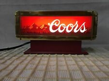 Vintage Coors Lighted Sign