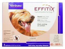 Effitix Flea & Tick Topical Solution for Dogs [45-88.9 lb] (3 count)
