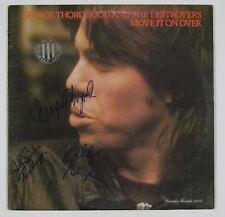 George Thorogood Move It On Over Signed Autograph Record Album JSA Vinyl