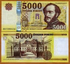 Hungary, 5000 Forint, 2016, P-New, redesigned UNC