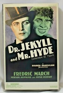 """Sideshow Collectibles Dr. Jekyll and Mr. Hyde 12"""" Figure 1/6 2004 NIB"""