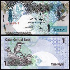 QATAR 1 Riyal, 2008, P-28, Birds, UNC World Currency