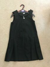 TU by Sainsbury Black Pinafore Age 7 x 2 Good condition
