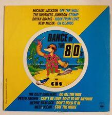 "Dance of the 80's Maxisingle 10"" promocional Francia Michael Jackson, B. Adams"