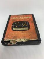MegaMania (Atari 2600, 1982) Cart Only Damaged Label