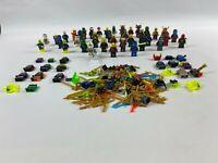 Large Lego minifigure & spares bundle mini figure Ninjago Nexo knights etc