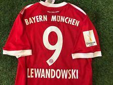 Maglia Adidas MatchWorn DFL Super Cup Jersey Bayern Monaco München Lewandowski 8