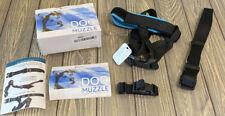 GoodBoy Dog Muzzle Guard Size Xl 13� - 17� Mouth Blue
