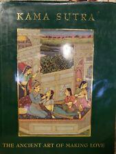 Kama Sutra Hardback Book. Madelyn Carol Fajardo 1998