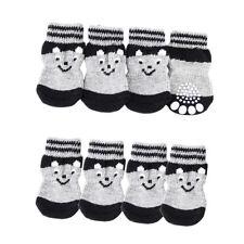 Blesiya PACK 8 Dog Socks Paw Protection Puppy Boot Shoes Dog Clothing Shoes