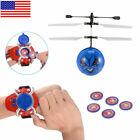 Children's toy hand crank sensor mini shooting flying ball airplane game gift US
