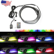 Car Interior Lights RV Interior Lights RGB for Jeep Car Truck Boat with Sound Active Function Wireless Remote Control BLIAUTO Car Led Strip Lights 8 Colors,48LED