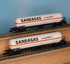 LS 62030, Spur N, SNCB Gaskesselwagenset 2-tlg., GANDAGAZ, LS Models 62030