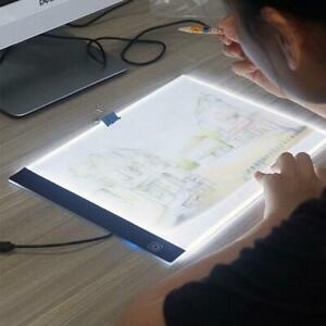 A4 LED Light Tablet Drawing Board Panel Stencil Pad for Diamond Painting