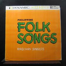 Mabuhay Singers - Philippine Folk Songs LP VG+ MLP 5051-S Philippines Record