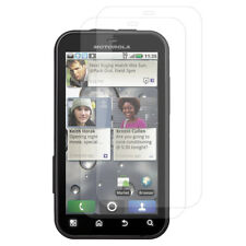 Transparentes Protector de Pantalla Para Motorola Desafiar MB525