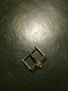 Genuine Vintage Omega Watch Gold Plated Buckle 16 mm