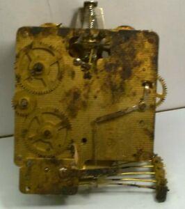 Franz Hermle 340-020 Brass Clock Movement - Watchmaker Repair Parts
