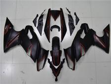 Fit for Kawasaki Ninja 650R 2009-2011 Fairing Bodywork Plastic Red Black c006