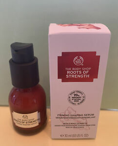 The Body Shop Roots Of Strength Firming Shaping Serum 30ml, New